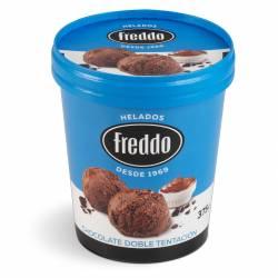 Helado Chocolate Doble Tentación Freddo x 375 gr.