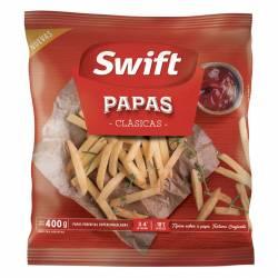 Papas Clásicas Prefritas Súper Swift x 400 gr.