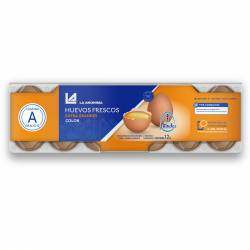 Huevo Color Estuche Plástico x 12 un.