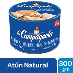 Atún al Natural La Campagnola x 300 g.
