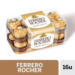 Bombones de Chocolate Finos Ferrero Rocher x 16 un. 200 g.