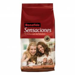 Café Molido Intenso Bonafide Sensaciones x 500 g.