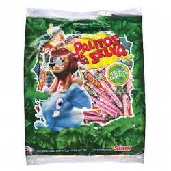 Caramelos Masticables Palitos Selva x 600 g.
