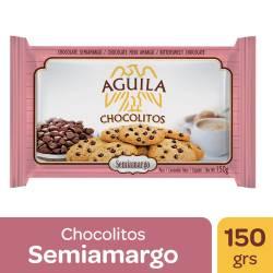 Chocolitos Águila Chocolate Semiamargo x 150 g.
