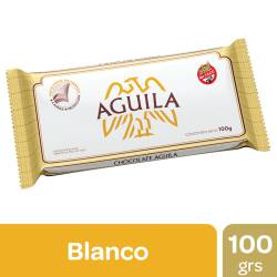 Chocolate Blanco Águila Familiar x 100 g.