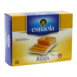 Dulce de Batata a la Vainilla Esnaola x 500 g.