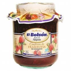 Dulce de Frambuesa sin Azúcar El Bolsón x 454 g.