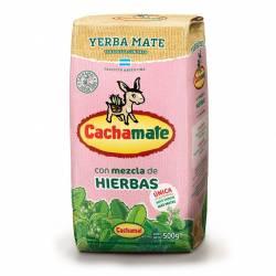 Yerba Mate Compuesta Cachamate Rosa x 500 g.