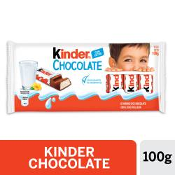 Chocolate con Leche Kinder x 8 un. 100 g.