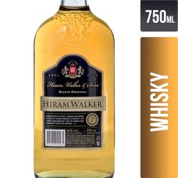 Whisky Hiram Walker x 750 cc.