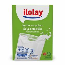 Leche en Polvo Descremada Ilolay x 800 g.