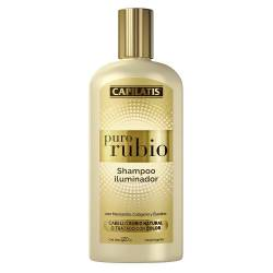 Shampoo Iluminador Capilatis Puro Rubio x 420 cc.