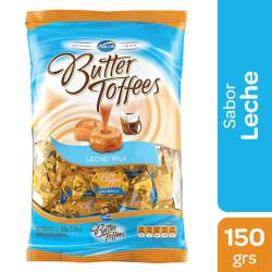 Caramelos Leche Butter Toffees x 150 g.