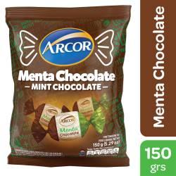 Caramelos Arcor Menta Chocolate x 150 g.