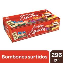 Bombones de Chocolate Dos en Uno Surtido Especial x 300 g.
