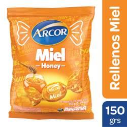Caramelos Arcor Miel Rellenos x 150 g.