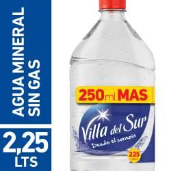 Agua de Mesa sin gas Villa Del Sur x 2,25 Lt.