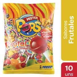 Chupetines Frutales Mr. Pops x 130 g.