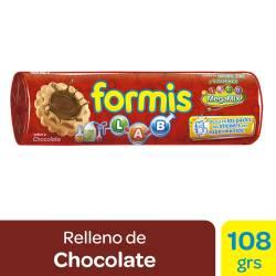 Galletitas Vainilla Formis Rellenas con Chocolate x 108 g.