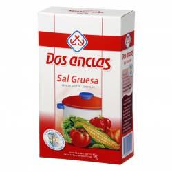 Sal Gruesa Dos Anclas Estuche x 1 Kg.