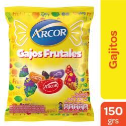 Caramelos Gajitos Ácidos Arcor x 150 g.