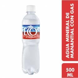 Agua Mineral con gas Eco de los Andes x 500 cc.