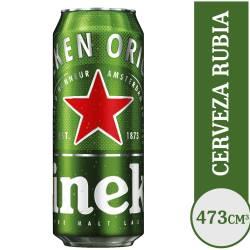 Cerveza Heineken Lata x 473 cc.