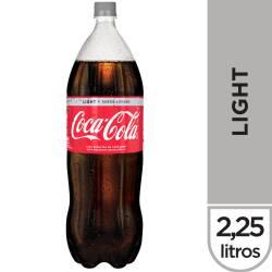 Gaseosa Cola Coca-Cola Light Pet x 2,25 Lt.