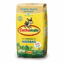 Yerba Mate Compuesta Cachamate Amarilla x 500 g.