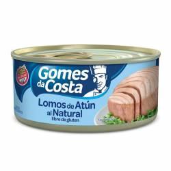 Atún al Natural en Lomos Gomes Da Costa x 170 g.