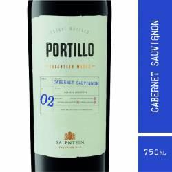 Vino Tinto Portillo Cabernet Sauvignon x 750 cc.