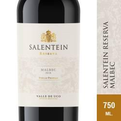 Vino Tinto Salentein Reserva Malbec x 750 cc.