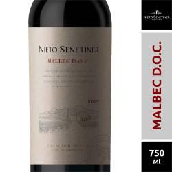 Vino Tinto Nieto Senetiner Malbec D.O.C. x 750 cc.