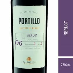 Vino Tinto Portillo Merlot x 750 cc.