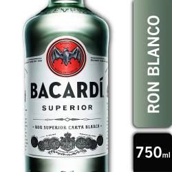 Ron Bacardi Blanco x 750 cc.