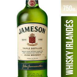 Whisky Jameson x 750 cc.