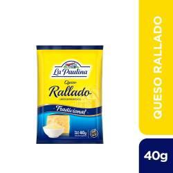 Queso Rallado La Paulina x 40 g.