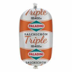 Salchichón Triple Paladini x 400 g.