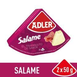 Queso Fundido Adler Salame x 100 g.