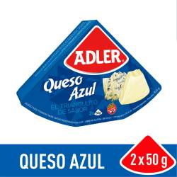 Queso Fundido Adler Azul x 100 g.
