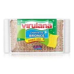 Esponja de Bronce Chatita Virulana x 1 un.