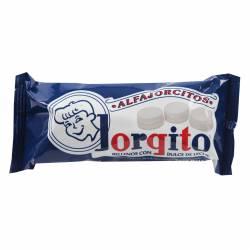 Alfajor Mini Dulce de Leche Jorgito con Baño Azucarado x 6 un. 155 g.