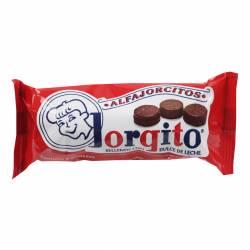 Alfajor Mini Dulce de Leche Jorgito con Baño Chocolate Blanco x 6 un. 155 g.