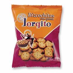 Bizcochos de Grasa Jorgito x 200 g.