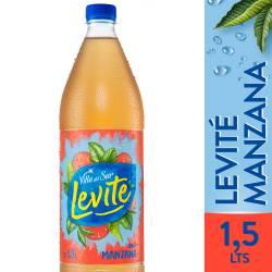 Agua sin gas Levité Manzana x 1,5 Lt.
