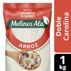 Arroz Doble Carolina Molinos Ala x 1 kg.