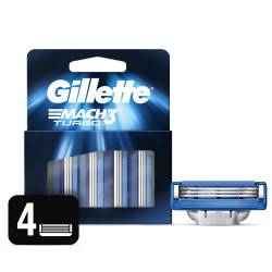 Cartucho Afeitar Turbo Gillette x 4 un.