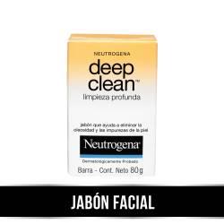 Jabón Facial Neutrogena Limpieza Profunda x 80 g.
