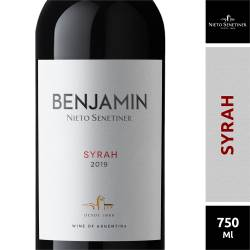 Vino Tinto Benjamín Syrah x 750 cc.