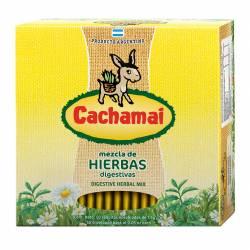 Té en Saquitos Hierbas Cachamai Amarillo x 50 un.